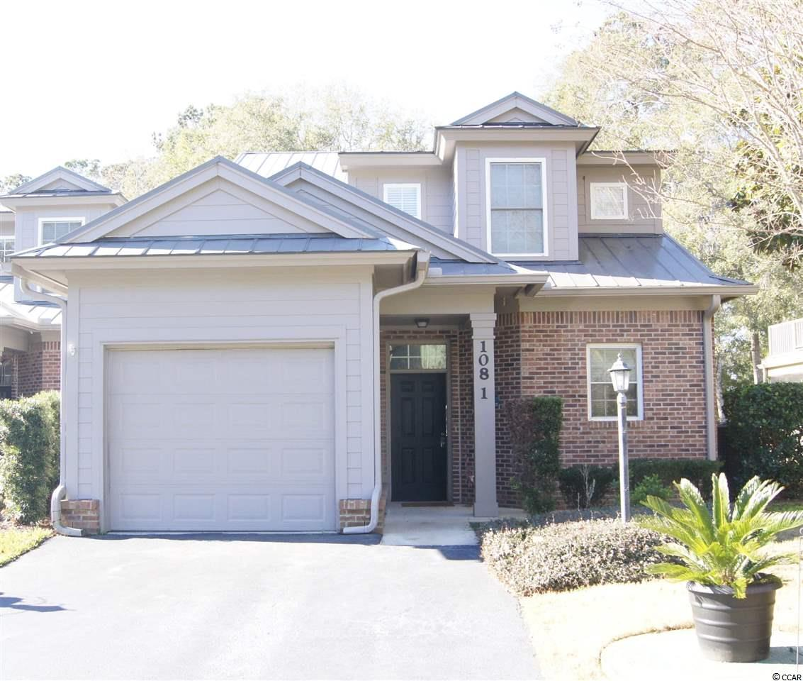Spacious, gorgeous, decorated and maintained to impeccable standards. 4BR/3.5 BA Condo in the beautiful golf community of Pawleys Plantation. Attached 1 car garage. Don't miss the unbranded 360 virtual tour, floor plan, and 3D model. Quartz counter tops in the kitchen, bar area, and master bath. This unit is easy to maintain and beautiful to see. Masters Place 4 bedroom villas are versatile as a primary residence, second home, or rental units. Peaceful and enchanting views from the rear screened porch and balconies. Great proximity to schools, shopping, churches and the beaches! Features include a screened rear porch, upper viewing deck off the bedroom, private location, and in-unit laundry. Rental management is available within the community. Buyer to verify measurements and amenities.