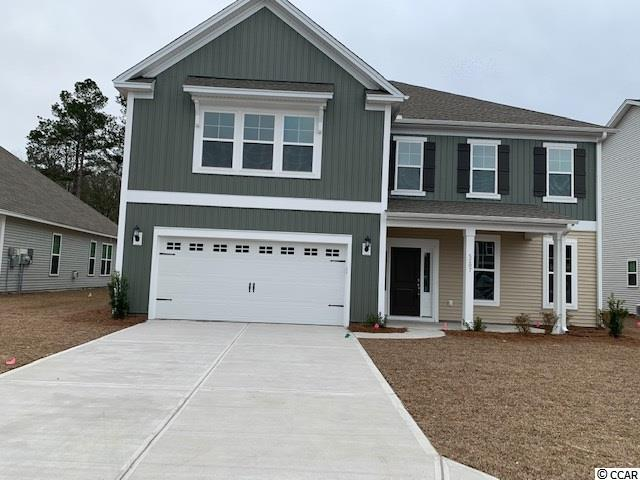 Brand new two story home with 5 bedrooms and 4.5 baths in Clear Pond Subdivision.  Spacious kitchen with an abundant amount of counter and cabinet space, as well as a walk-in pantry.  Two car garage, large covered patio, spacious backyard and community pool.