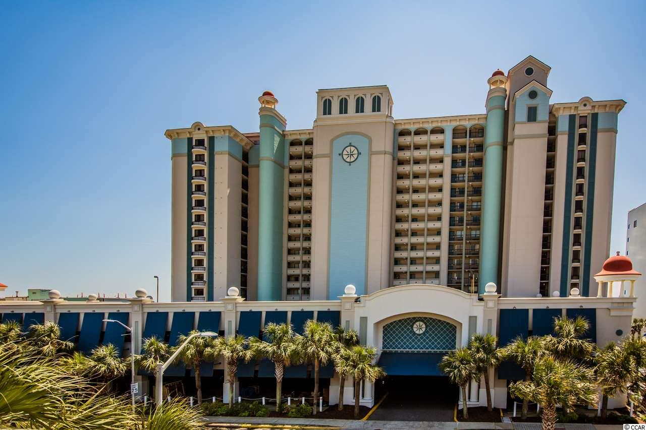 Enjoy Atlantic breezes and views from your private balcony in this ocean front 1 bedroom at Pinnacle Tower at Compass Cove Resort.  Swim in the resort's indoor/outdoor pools and hot tubs.  Enjoy the fitness room, onsite tiki bar/grill, and Starbucks.  Close to all of Myrtle beach's great restaurants, mini golf, shopping and entertainment! A great buy for your vacations or investment opportunity.