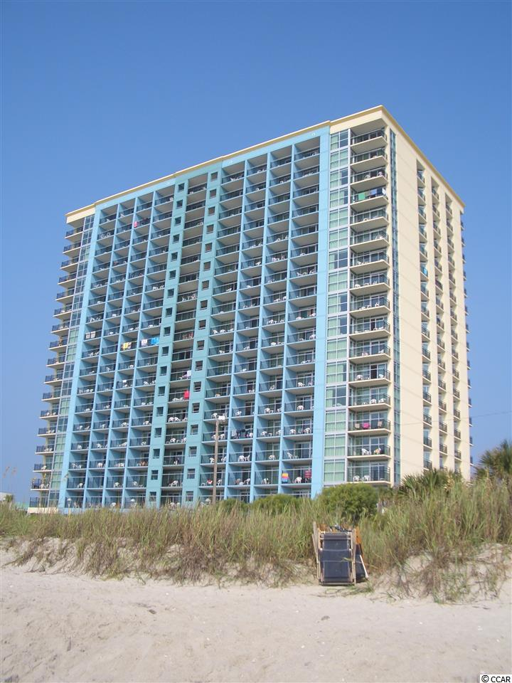 Experience life on the beach from the 11th floor balcony of this Ocean Front 2 BR / 2 BA located at the Bay View Resort.  This has many amenities including  a lazy river, indoor and outdoor pool, hot tubs, and on site Starbucks! Not to mention miles and miles of beautiful sandy beaches for you and the whole family to relax and enjoy! The Bay View Resort is located near all of the restaurants, shopping and entertainment that attract tourists to Myrtle Beach year after year.