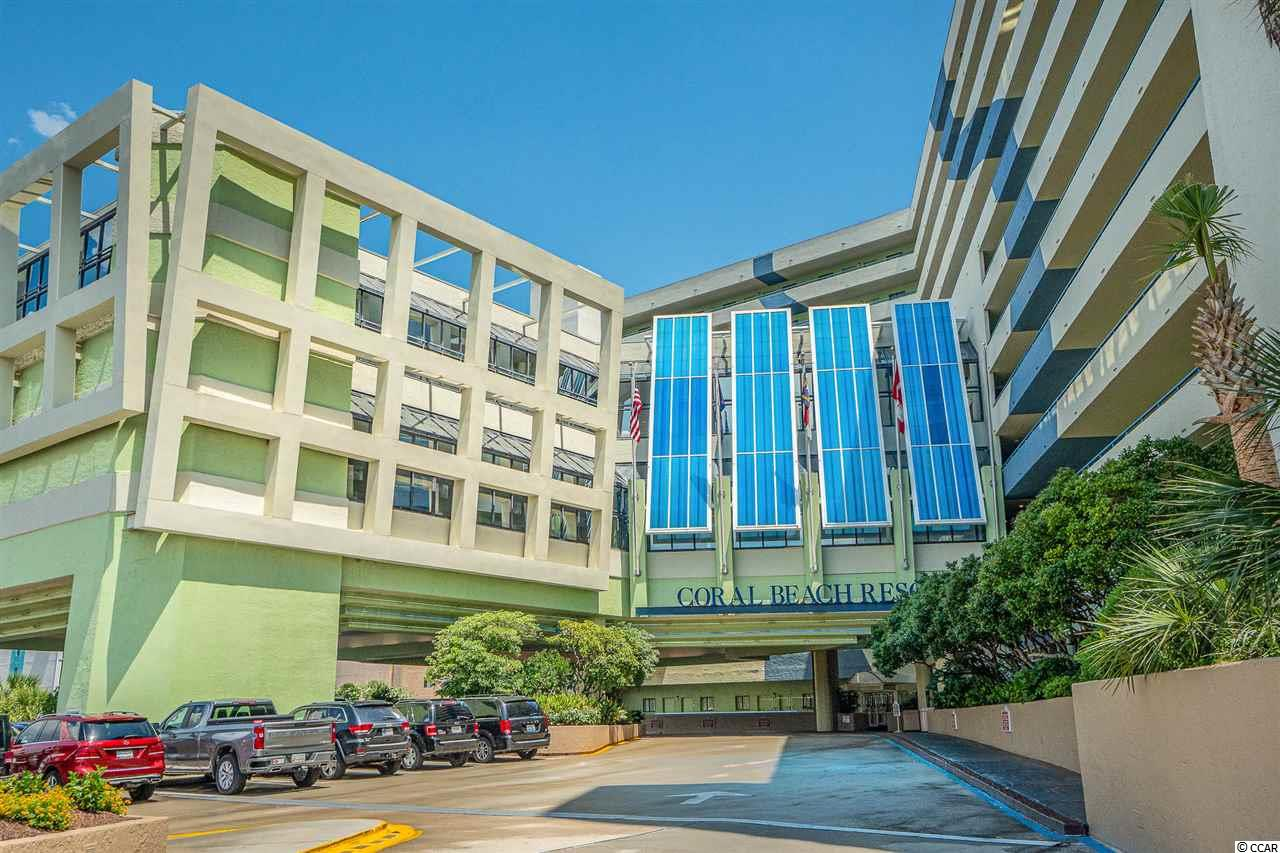Amazing opportunity to own a FULLY FURNISHED 1 bedroom 1 bath DIRECT oceanfront condo on the 2nd floor in Coral Beach which offers indoor/outdoor pools, lazy river, and clubhouse/rec facilities and bowling alley.  This location has it all!  Convenient to shopping, dining, championship golf, and steps to the ocean. Excellent rental history!  Bring your investors and beach home getaway clients!  Great rental history!