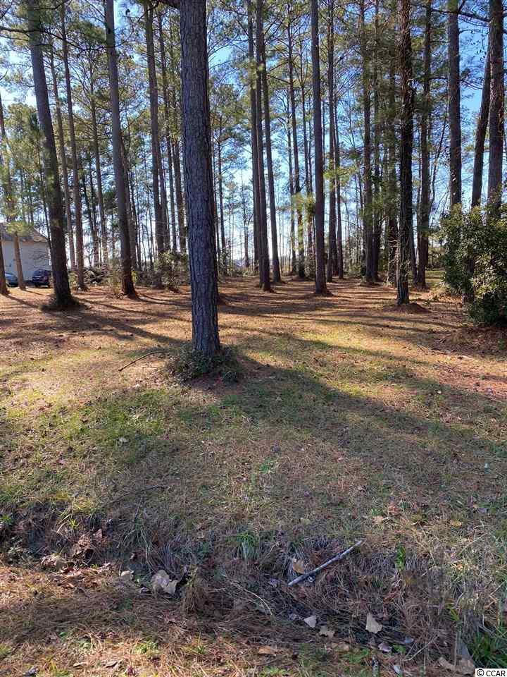 Diamond in the Rough!!!  This 1/2 acre wooded residential home site is located at the end of Golf Ave in the private Eagles Nest Estates in Little River. No HOA in this community so you can park your RV , Boat or Jet Skis on your property.  If you are looking for space to build your custom built home then this is the place for you.  You will love the beautiful, luxurious homes in this neighborhood  where there is no through traffic. Don't miss out on your chance to build your dream estate on this oversized lot as it will not last long!