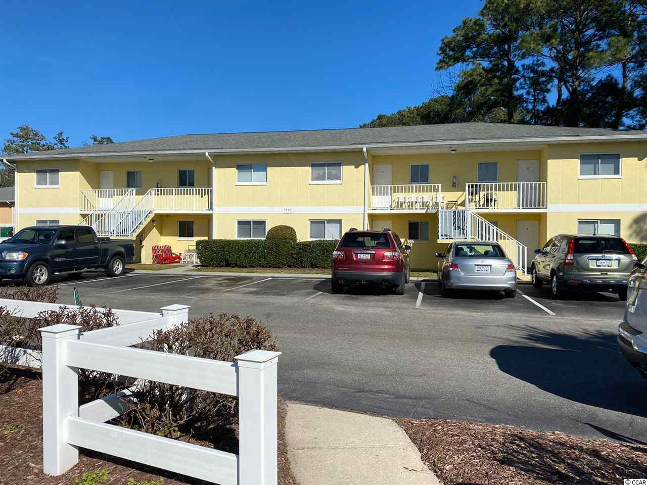 Located in the heart of Surfside Beach and just a short drive or walk to the ocean. Close to post office and grocery store. Unit has screened in porch and a community pool. Great investment property, vacation property or permanent residence.