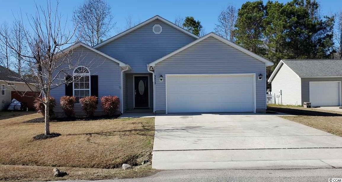 If you're looking for a nice home in the highly sought after St James school district then look no further!  This home is turn key.  The over 1500 heated square foot home has a nicely sized living room and master bedroom.  There is a Carolina room to ensure you'll be able to enjoy all of those beautiful Carolina days!  There is also a nice whirlpool tub with 4 jets in the master bath that is great for relaxing. A large sized back patio is really nice when you're barbequing in your fenced in back yard. There is a 100 sq ft shed in the back in addition to the 2 car garage for storage.  This home was one of the last ones built in the final phase of the neighborhood. With the lot location being in the very back of the neighborhood, the low traffic flow is appreciated.  The intracoastal waterway is only about 8 minutes away with the Garden City Beach pier and the famous restaurant row in Murrells Inlet only 10- 15 minutes away making this a great location that is close to a variety of attractions.   There is brand new carpet that was professionally installed in all bedrooms and closets.  Ceramic tile was professionally installed in the foyer and both bathrooms.  The home was professionally painted (everything-exterior and interior doors, trim, walls and ceiling).  All 4 exterior doors have brand new rekeyable doors locks installed. All cabinets have been re-stained in the kitchen and bathrooms.  There is a new toilet in the master bathroom, new ceiling vents throughout the house, and the house was pressure washed including the driveway and patio.  The refrigerator, range and dishwasher were all bought April of 2020!  This home is ready for you to move right in. This home won't last long. Book your showing today!  Buyer is responsible for the verification of all measurements.