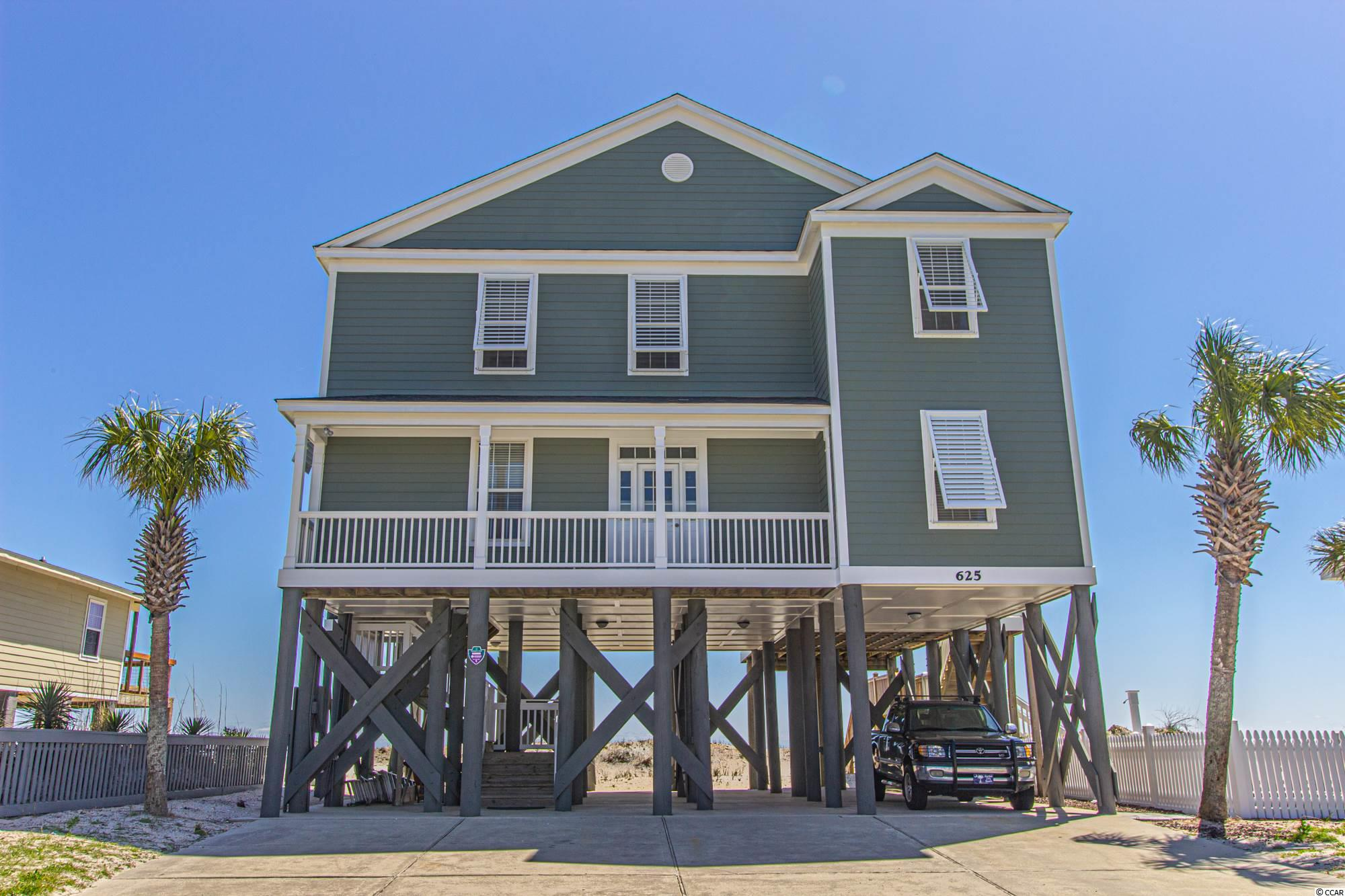 This 5BR 5.5BA Beach House has been brought back to pristine condition and a must see. 94' wide LOT, one of the largest LOTS on the Garden City Peninsula. Make this your primary home, vacation get-away or the perfect investment property. This property can bring top rental income. Jump on this in time for the peak season