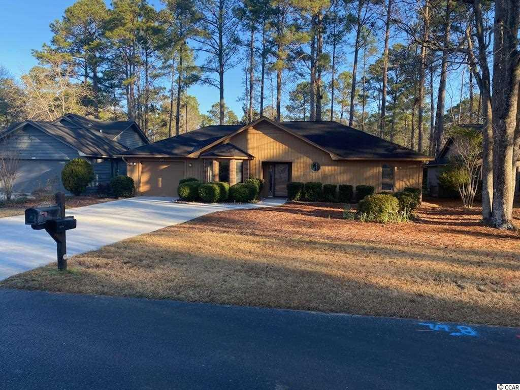 Great, move-in ready 2BR/2BA ranch home in the Myrtle Trace adult 55+ community.  Features include a galley kitchen with brand new stainless steel appliances, granite countertops, plenty of cabinets and a bay window with terrific golf course and wooded area views.  Easy to maintain flooring is throughout the living area and bedrooms and a heated and air-conditioned rear porch with hot tub is off the living room. The entire home, inside and outside, has just been freshly painted and is ready to welcome its new owners.  The one-car garage is roomy and suitable for extra storage space and the driveway accommodates plenty of parking.  The community includes a clubhouse and pool, is well-maintained and its homes are nestled within a quiet and scenic wooded environment.  Enjoy the close proximity to shopping, restaurants, golf courses, medical facilities and the beach.  Come see it today!
