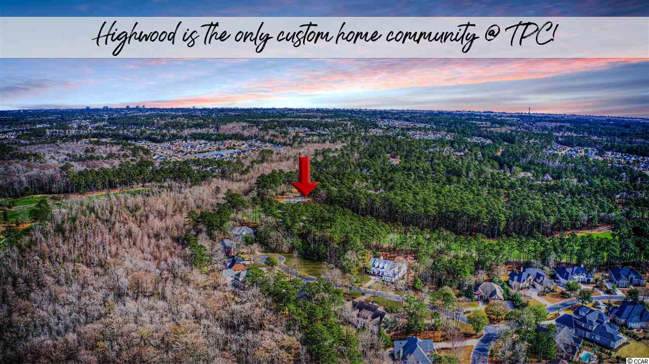 This is the only lot currently listed in the entire area on the TPC golf course! Not only is this a golf course lot, it's a prime location at that. This pie shaped lot offers wide views of the #6 green and fairway. Highwood of Prince Creek is the only custom home neighborhood located on the prestigious TPC golf course of Murrells Inlet. This is a rare opportunity! These lots are becoming very hard to find with such limited inventory remaining. This lot is much larger than it may appear in the aerial images. You're going to love this quiet cul-de-sac setting. Not to mention, you'll gain the benefitof evening shade in the back of your home! A perfect lot location for those who enjoy outdoor living and peaceful afternoons & evenings on your porch. *This lot is located in a flood zone X. Many refer to this as not within a flood zone (This is lowest risk zone and lenders do not require flood insurance). More photos coming very soon.