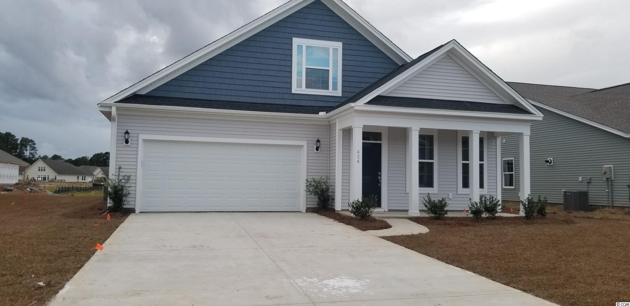 Take advantage of Pre-construction Pricing for a SHORT time!! ---TO BE BUILT--- Fullerton plan-You choose the home site!  Enjoy life living near the beach, The Marsh Walk, Brookgreen Gardens and several golf courses in this well appointed, affordable home in Murrell's Inlet. Evans Park is so conveniently located within the International Club making it just a few minutes to 3 grocery stores, 5-10 minutes to oodles of restaurants, 10 minutes to Garden City beach and the Marsh Walk with tons of food and great music!!   The Fullerton 2 story home is so open and airy! 12' high ceilings in your family room, kitchen and dining area! Optional boxed ceilings in the Primary Bedroom would give you 10 ft high ceilings in your bedroom!  Walk out to your included 12' x 14' covered rear porch now opens up the outdoor living for you too!! Add the porch fireplace for extended use in the cooler months! With the 2168 Heated sq ft, you'll have plenty of room to entertain in the large family room, spacious kitchen and a formal dining room! Each of the 3 bedrooms have their own bathroom! Walk in attic storage for all of that extra stuff we have. Long laundry room has an option of upper and lower cabinetry for even more storage in this home!!   Just some of the Fullerton plan Included Features: Stainless Steel appliances, Staggered height cabinets with large crown molding, granite counter tops, Luxury Vinyl Plank flooring from front door to back door in main common spaces, comfort-height vanity with drawer stack in primary bath, framed mirrors in all baths, double racked closet  in Primary closet, Radiant Barrier Roof Sheathing to keep out the heat of the sun's rays, a Lenox HVAC System designed and tested by independent 3rd Party, R-38 Attic Insulation, and a Rinnai Tankless hot Water Heater that you'll appreciate when you receive your lower monthly power bill. A built in lawn irrigation system is included and will save you thousands of dollars in upfront costs and you wont have to drag 