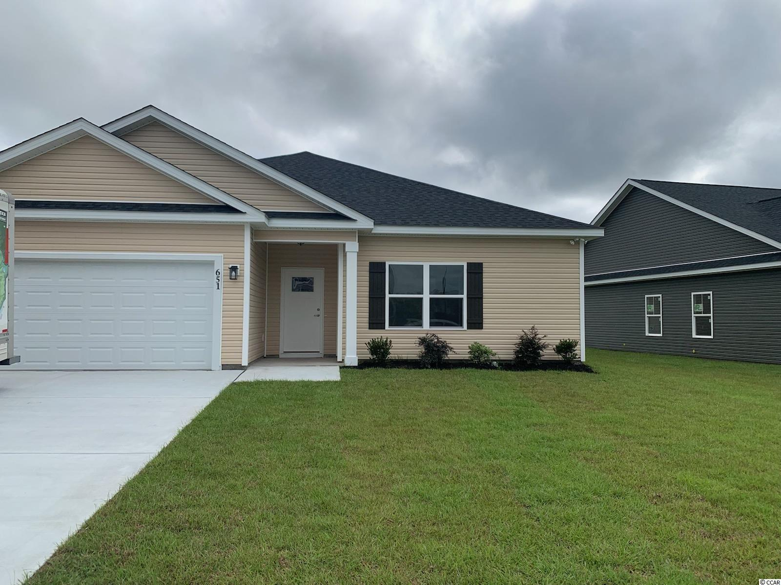 New Community. This is a to be built home and several more being built in this small community with only 22 homes close to Highway 22 and International Dr in Conway. 20 minutes to the beach, golf, fine restaurants, and so much more.