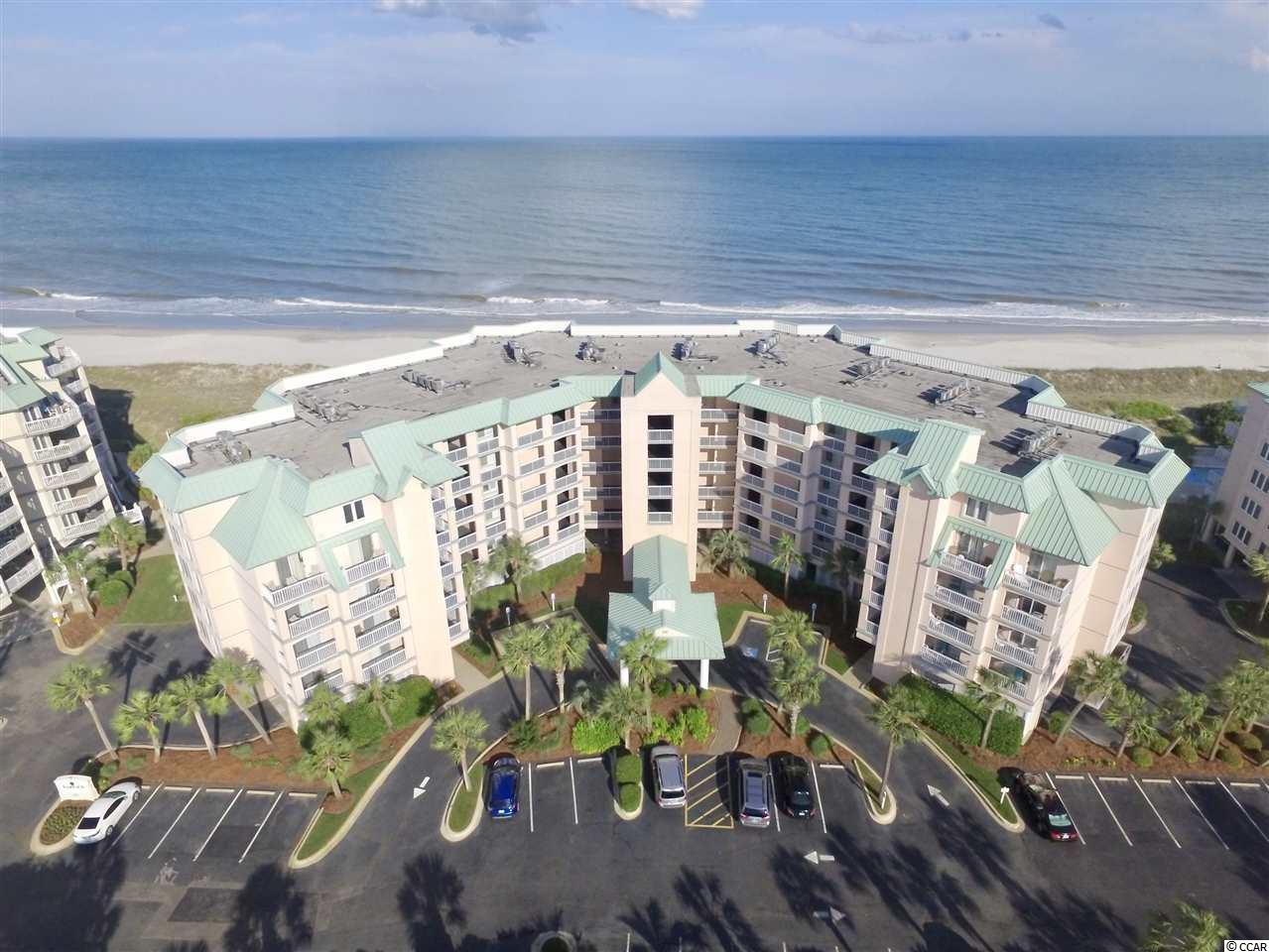 Beautiful oceanfront unit in the desirable Warwick building at Litchfield by the Sea. 3 bedrooms and 3 full baths with a large porch overlooking the beautiful Atlantic Ocean. With a fantastic location on the 1st floor, you have walk out access from your balcony to the pool and beach. This unit has plenty of room for entertaining guests and would also perform very well on a rental program. Owners and guests can enjoy resort amenities, such as the private pool, beach club, crabbing dock, recreational paths, tennis and on-site restaurant and bar.
