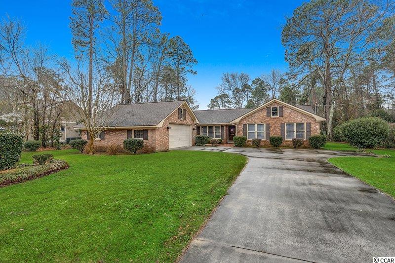 This home is a rare opportunity to own a custom built one owner property that has been well maintained. Home has new flooring and paint throughout. Spacious floor plan. Located in Coastal Heights, minutes from Conway Hospital and walking distance to Coastal Carolina University. You can see the Fifteenth Fairway from the back porch. Easy to see on short notice. Call today to schedule a viewing!