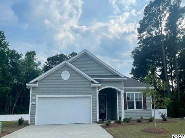 New phase now selling! Hidden Brooke is a beautiful community with an amenity that includes a pool with large deck area, clubhouse, exercise room, and fire pit overlooking the water. Minutes away from Highway 31 which provides quick and easy access to all of the Grand Strand's offerings: dining, entertainment, shopping, and golf! Tranquil setting just a short drive to the beach. This popular Eaton floor plan is a great open concept home with a show stopper kitchen- perfect for family living and entertaining! White painted cabinetry, granite countertops, stainless Whirlpool appliances including a gas range, 9 ft. ceilings, and much more! Luxury primary bedroom suite with tray ceiling and en suite bath featuring a large double vanity, 5 ft. shower, and two linen closets. Ask an agent today about our industry leading smart home technology package that is included in all of our homes! *Photos are of a similar Eaton home.  (Home and community information, including pricing, included features, terms, availability and amenities, are subject to change prior to sale at any time without notice or obligation. Square footages are approximate. Pictures, photographs, colors, features, and sizes are for illustration purposes only and will vary from the homes as built. Equal housing opportunity builder.)