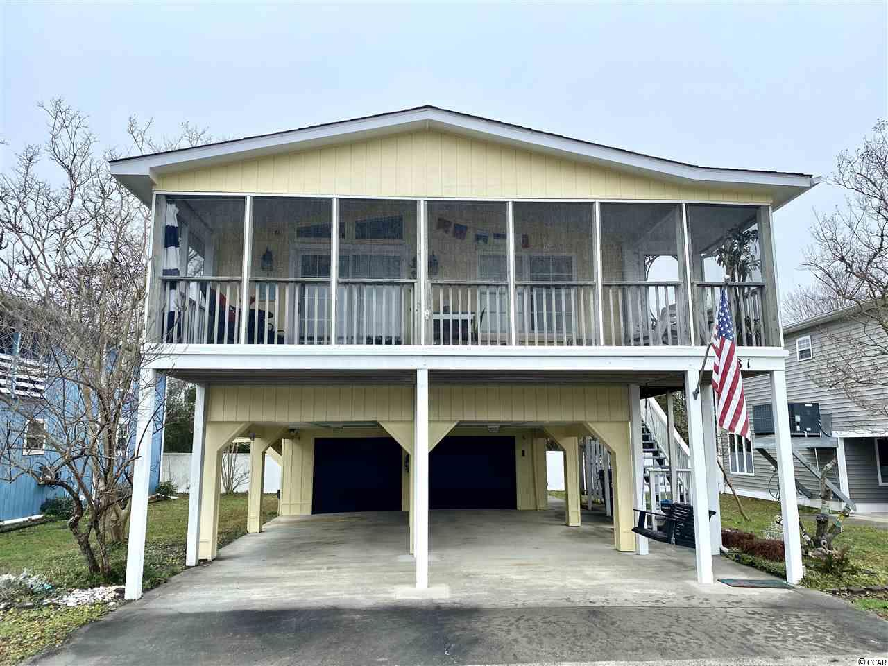 Well maintained 3 bed/2 bath open concept pier home located in the highly desirable gated community of Oceanside Village. This home has amazing outdoor space for the entire family to enjoy countless summer nights.