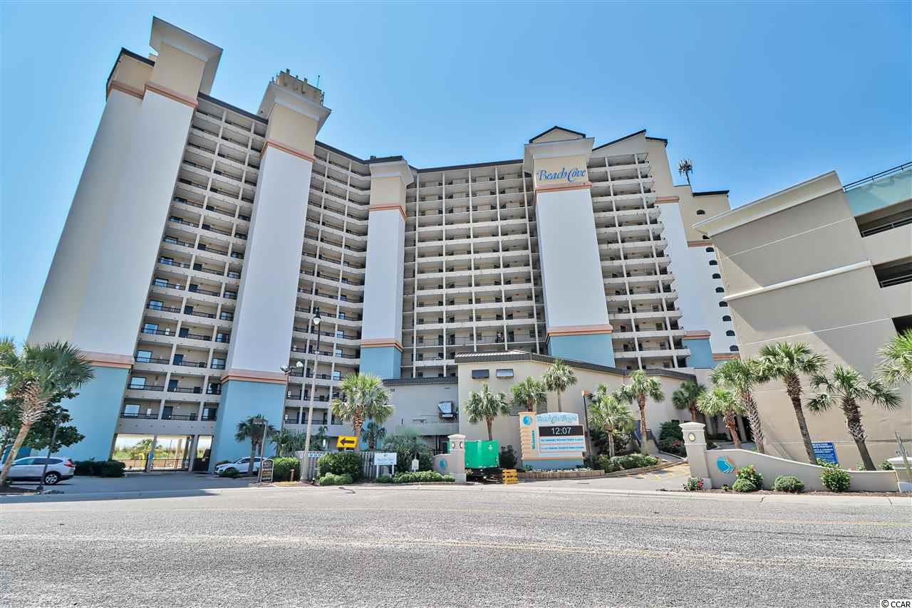ABSOLUTELY MUST SEE this OCEANFRONT condo with splendid  views of ocean & beach! The perfect spot to relax and get away!  Very spacious 1 bedroom, 1 bath condo unit is located in Windy Hill Beach at one of North Myrtle Beaches top vacation destinations within Beach Cove Resort. Indoor/Outdoor Amenities: (4) outdoor pools,  Oceanfront whirlpools, a Lazy River surrounded with  well-maintained lush landscaping! Indoor Amenities: Fully Equipped Gym, Hot Tub, Pool & Sauna  Indoor/outdoor dining onsite at Tipsy Turtle Beach Bar Conveniently located in walking distant to shopping,  dining & entertainment at Barefoot Landing & just a short  drive to Tanger Outlet!  All measurements and square footage  are approximate and not guaranteed. Buyer is responsible  for verification.