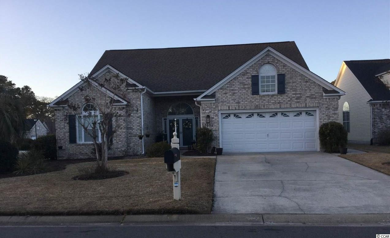 This well maintained home located on corner lot with lake view. Enjoy the lake view of this home from your master bedroom, Carolina room or your office. When you enter this beautiful home, to your immediate left, there are two bedrooms and a full bath on the front of the house.  To your right home hosts a huge kitchen ,work island, eat in breakfast nook.  Off the kitchen is a laundry room and inside entrance to your large 2 car garage. The living room has beautiful, 12' ceilings and propane fire place. Off the living room is a Sunroom to let more light into the living room and view of the lake.  The master bedroom is off the living room and Sunroom room also has view of the lake . There is a separate Jacuzzi tub, shower, dual vanities with lots of storage, a and nice size walk in master closet in master bath. There is a large 4th bedroom or office off the other side of the Sunroom. The roof was replaced 2013, HVAC replaced 2019, hot water heater replaced 2019. Pro System water filter on whole house 2017, stainless steel appliances.  Dishwasher, Stove and microwave new in 2017,  washer and dryer in 2015. New roof and Sunroom 2020.