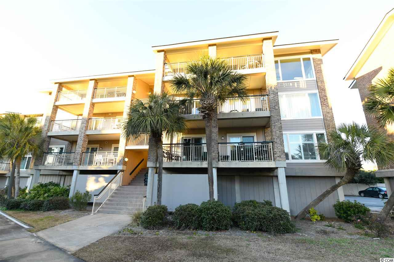 Rare Opportunity!  A chance to enjoy the much sought after Pawleys Pier Village. This listing is ONE 1/4 share of ownership of this unit (13 weeks) and ONE 1/4 share of all expenses associated with unit. This gated oceanfront community has its own private Fishing Pier on the ocean. Boat storage and pool are part of the amenities.  Enjoy the sunrise with a cup of coffee on your balcony overlooking th poole or stroll the beach early and collect shells. Park in your own private covered space and take the elevator to your beach retreat. After a sun filled day on the beach, storage is available for your beach chairs, umbrella and coolers in the private ground level storage closet.