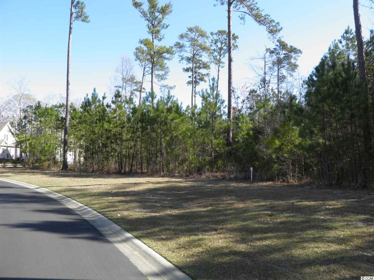 Home site is located in a custom neighborhood of the Bays of Prince Creek. A gated community in Murrells Inlet near TPC players golf course. The Bays community includes a ten acre amenity center with 2 pools, club house, lighted tennis, picnic area and more. A short drive to shopping and Murrells Inlet restaurants for some of the best seafood our area has to offer. No time frame to build and you can pick your own builder.