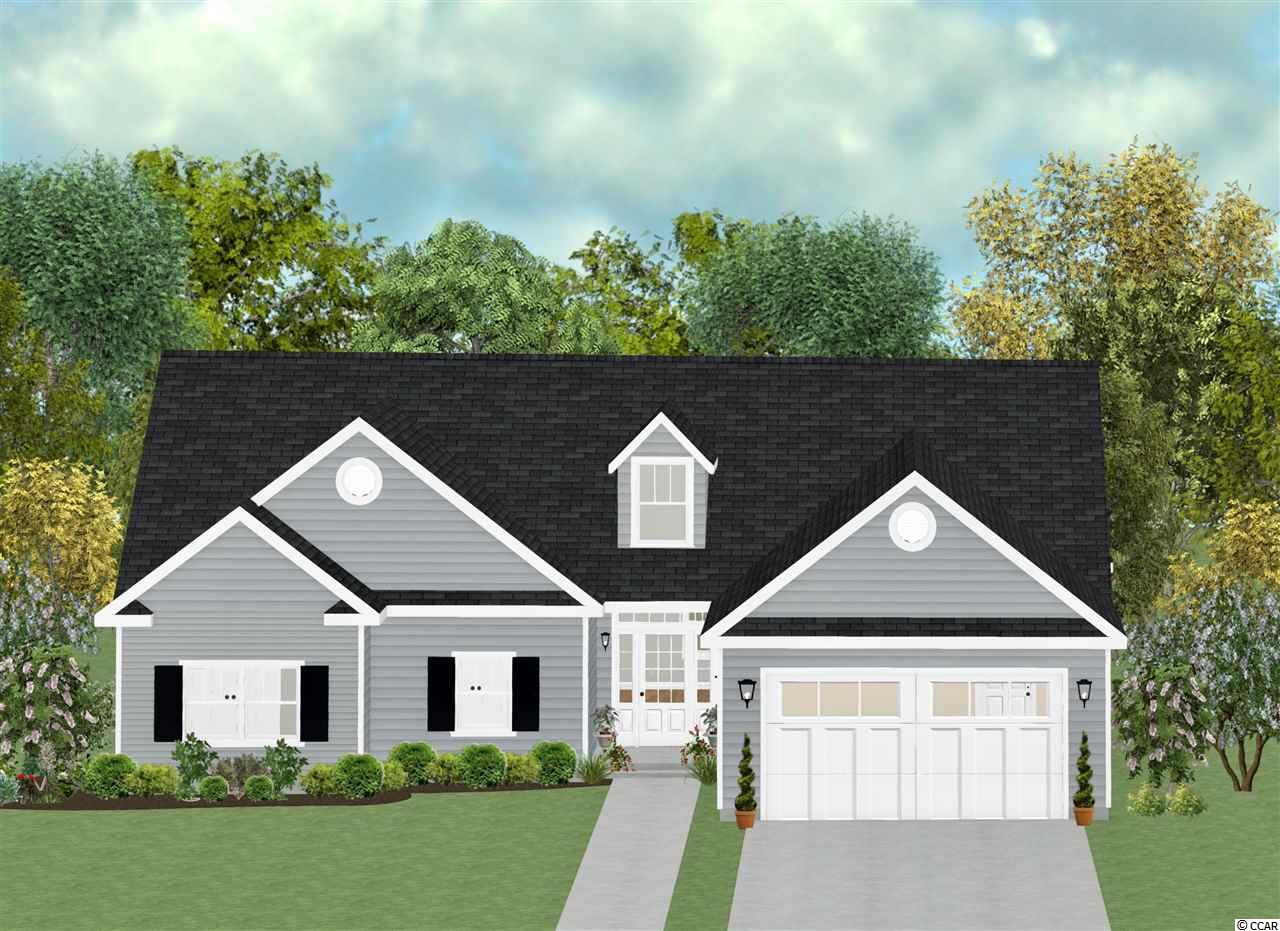 This is the Tupelo model. It's known for its spacious and open concept floor plan. All the bedrooms in this model are a good size. From the master bedroom, living room and kitchen you have a unobstructed view of Wedgefield Plantation Golf Course. The flooring throughout the living space will be Luxury Vinyl Plank with carpet in the bedrooms. The kitchen will have granite countertops and stainless appliances. Wedgefield Plantation is a golf course community located on the Black River. One of the amenities is a private boat landing and dock. From here you have access to multiple rivers, the IntraCoastal Waterway and the Atlantic Ocean. Pictures are of a different home home is under construction.