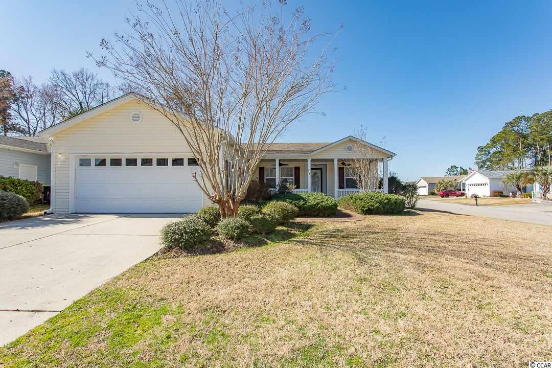 Well Maintained, Glen Eagle Model  with Extended Garage, on Corner Lot.  Double Front Porch,  Granite Counters, Partially Furnished.   Breakfast Nook and Bar and Large Master.  Move In Ready.    You Must Come See What This Outstanding 55+ Community is All About.    Measurements at Estimates.  Buyers to Verify.