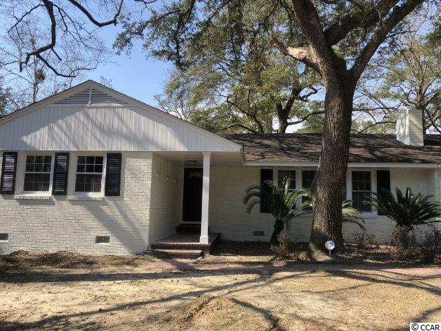 Fantastic ranch home, located in the highly desirable Maryville Farms neighborhood with winter views of the Winyah Bay, Sam Pit River.  This distinctive Ranch style Home is being Remodeling and the vision is beginning to take shape! This updated modern Open Concept living space is in full throttle and we are not letting off the gas!  Remodeling improvements include  4 Bedroom, 2 full bathrooms,  full laundry room, an entertainers kitchen with large island that opens to the large Livingroom with wood burning fireplace, New electrical and HVAC and fantastic refinished hardwood floors! The front elevation will host a carport with a door adjacent to the family room for convenient access on those rainy days. The back yard will entice you with beautiful trees, a large yard with southern charm in this peaceful neighborhood!     Call the list agents Jason or Jillian for details.
