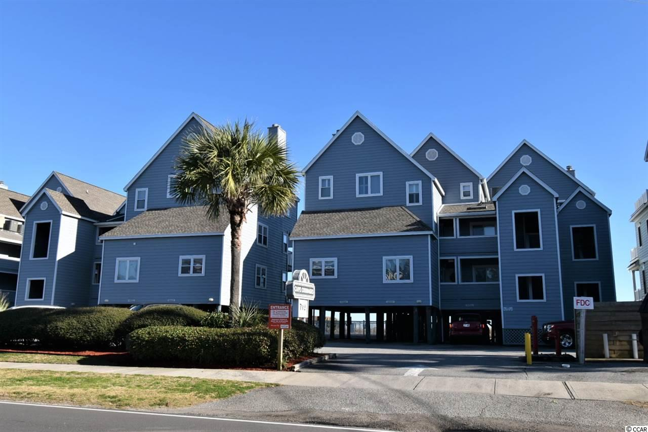 Rare listing on FIRST floor in Cape Coddages I. Oceanfront, 2 bedroom, 2 full bath condo with spectacular oceanfront and pool views! Unit is selling furnished as seen minus personal items. This TURN KEY condo is a well-decorated, spacious, all one level condo! Corian countertops! Stainless Steel appliances! New HVAC in 2020! Very convenient and Private exterior storage room under building. Complex also has a small grilling area and sitting area. Plenty of parking for you and your guests. This is the one! Buyer responsible for verification of all information.