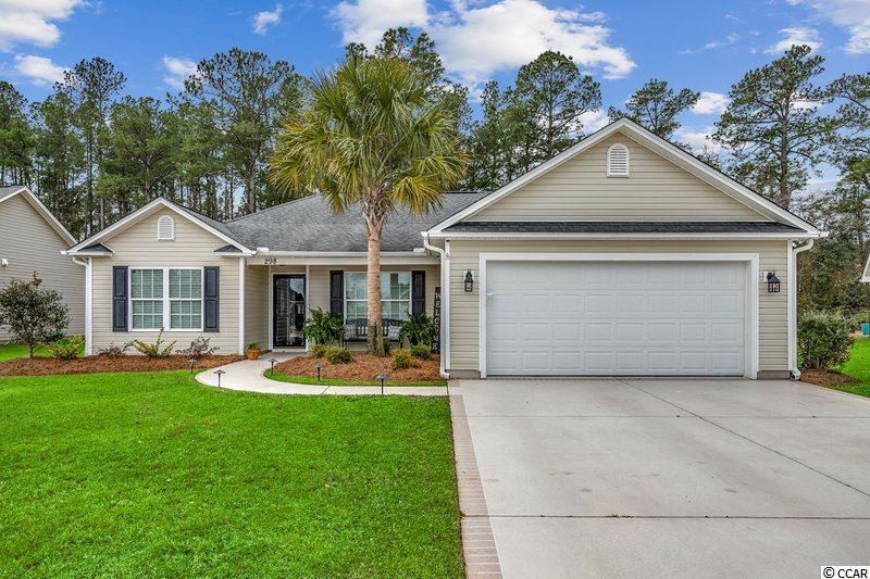This immaculate home in Hunters Creek is absolutely stunning and ready for its new owners! Beautifully appointed inside and out, this home leaves nothing to desire. Some of the indoor features include Quart countertops, stainless steel appliances in the kitchen with soft close cabinets throughout. In the Carolina Room you'll enjoy the power operated roller shades, fireplace and a custom bar with 2 48 bottle wine refrigerators. You'll enjoy summers like never before with your heated saltwater pool, 6 person spa and privacy fence. Upgraded perfectly with cool deck treated concrete surfaces, an outdoor kitchen, surround sound and a pergola with a power operated Sunbrella shade. You'll enjoy peace of mind with a 2019 Bryant HVAC compete system and air purifier, tank less hot water, 22KW Generac generator installed in 2021 and exterior camera system. This home also boasts plenty of storage with an 12 x 16 insulated outdoor workshop and finished and carpeted storage above the Carolina Room.