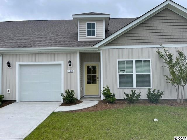 "Brand new community within walking distance to the Murrells Inlet Marsh Walk! Low maintenance living at its best with these single level townhomes. Our Bentley floorplan is masterfully designed with an open concept kitchen, living, and dining area that is perfect for guests visiting you at the beach! Features include 36"" painted cabinetry, granite counters in the kitchen, stainless Whirlpool appliances, and laminate wood flooring that flows throughout the main living areas. This home also boasts a versatile flex space that would make a great formal dining room or home office. The primary bedroom suite is tucked away at the back of the home with a walk-in closet along with a private bathroom with dual vanity and large shower. Enjoy the beautiful coastal weather on the rear covered porch! One-car garage with garage door opener plus a spacious storage closet off the rear porch. It gets better- this is America's Smart Home! Ask an agent today about our industry leading smart home technology package that is included in each of our homes.  *Photos are of a similar Bentley home. This home is under construction. (Home and community information, including pricing, included features, terms, availability and amenities, are subject to change prior to sale at any time without notice or obligation. Square footages are approximate. Pictures, photographs, colors, features, and sizes are for illustration purposes only and will vary from the homes as built. Equal housing opportunity builder.)"