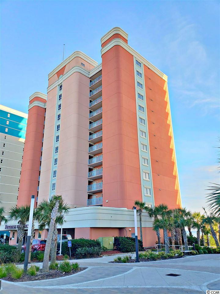 Located in the heart of Myrtle Beach, this high rise condo complex known as Roxanne Towers, has just about everything one might be looking for. The beaches and the dunes are extra wide. There is a fishing pier located just 2 blocks away. This complex has an indoor heated pool, and an outdoor pool and lazy river for your enjoyment. This is a pet free building/no pets allowed. This corner 2 br 2ba unit is allowed 2 parking spaces. Interior of this unit has just been freshly painted; the carpets, tile and grout have been cleaned, and a thorough deep clean throughout the unit.