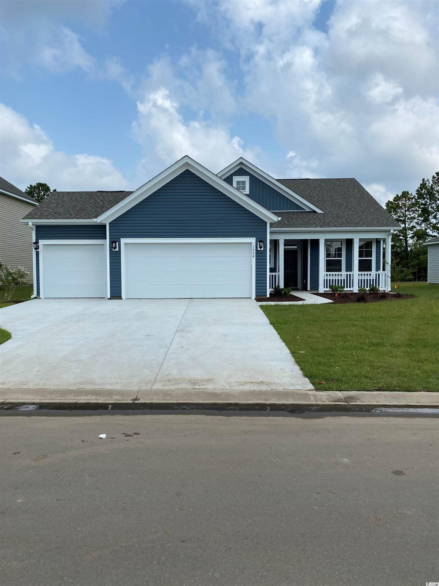 Camden model features three bedrooms, two baths and a Carolina room. gas range, upgraded cabinets with quartz counters in this oversized kitchen which features a huge counter for bar seating. Mud room & separate laundry room off garage. Relax in your Carolina room or covered porch. Energystar certified homes only! Each home is rated and tested & you receive a HERS rating & certificate for your home. R-15/R-38 insulation. Externally vented microwaves for the cook in your family. Tyvek full system used for house wrap, make sure you protect your investment with the proper moisture management. Save on utility bills for the life of your home. Home is under construction, photos are the model home. This home has most of the same upgrades