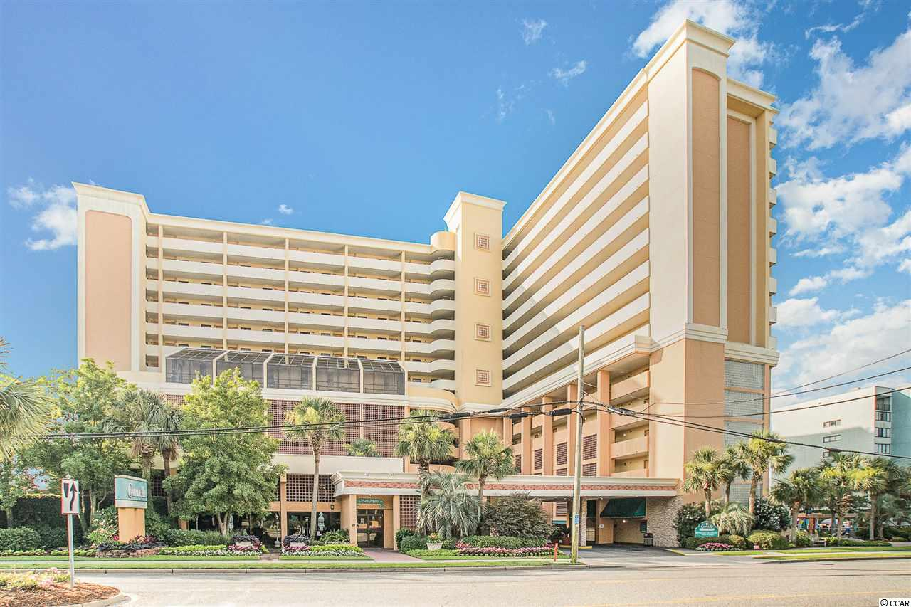 This beautiful, fully furnished Oceanfront condo is located at the Caravelle Resort. Located 1 floor up from the parking garage & on the same floor as indoor pool, hot tubs, and sundeck. This unit offers a full kitchen, 2 full beds, & murphy bed.  The resort offers indoor/outdoor pools, a hot tub, fitness center, onsite restaurants, a spa, a game room and more! Just a short drive to some of the best dining & entertainment, shopping, area attractions and so many other fun things to do. Schedule your showing today!