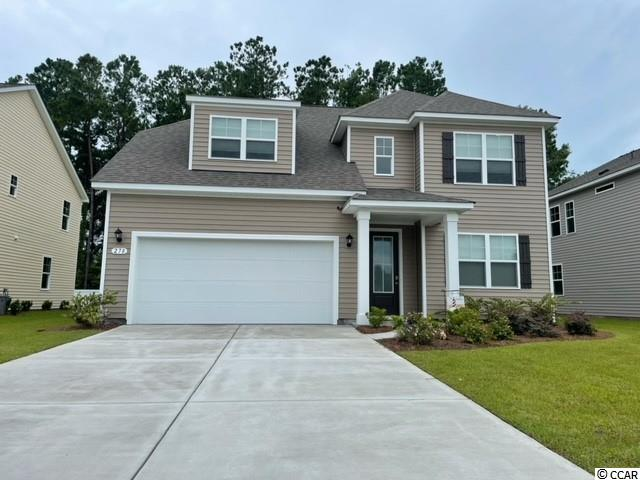New phase now selling! Hidden Brooke is a beautiful community with an amenity that includes a pool with large deck area, clubhouse, exercise room, and fire pit overlooking the water. Minutes away from Highway 31 which provides quick and easy access to all of the Grand Strand's offerings: dining, entertainment, shopping, and golf! Tranquil setting just a short drive to the beach. The Willow Oak is our very popular two-story plan featuring an open concept design and a spacious primary bedroom suite on the first floor. Perfect for entertaining, the gourmet kitchen overlooks the open family room and features white painted cabinetry, granite countertops, and stainless Whirlpool appliances including a gas range. Wide plank laminate flooring flows throughout the kitchen, living room, and dining room giving the look of wood with easy care and cleanup. There is also another bedroom and full bathroom on the main level that is great for guests visiting you at the beach! Upstairs you will find a versatile loft space along with three great sized bedrooms and two full bathrooms. One of these bedrooms is a self-contained suite with private bath!  *Photos are of a similar Willow Oak home. (Home and community information, including pricing, included features, terms, availability and amenities, are subject to change prior to sale at any time without notice or obligation. Square footages are approximate. Pictures, photographs, colors, features, and sizes are for illustration purposes only and will vary from the homes as built. Equal housing opportunity builder.)