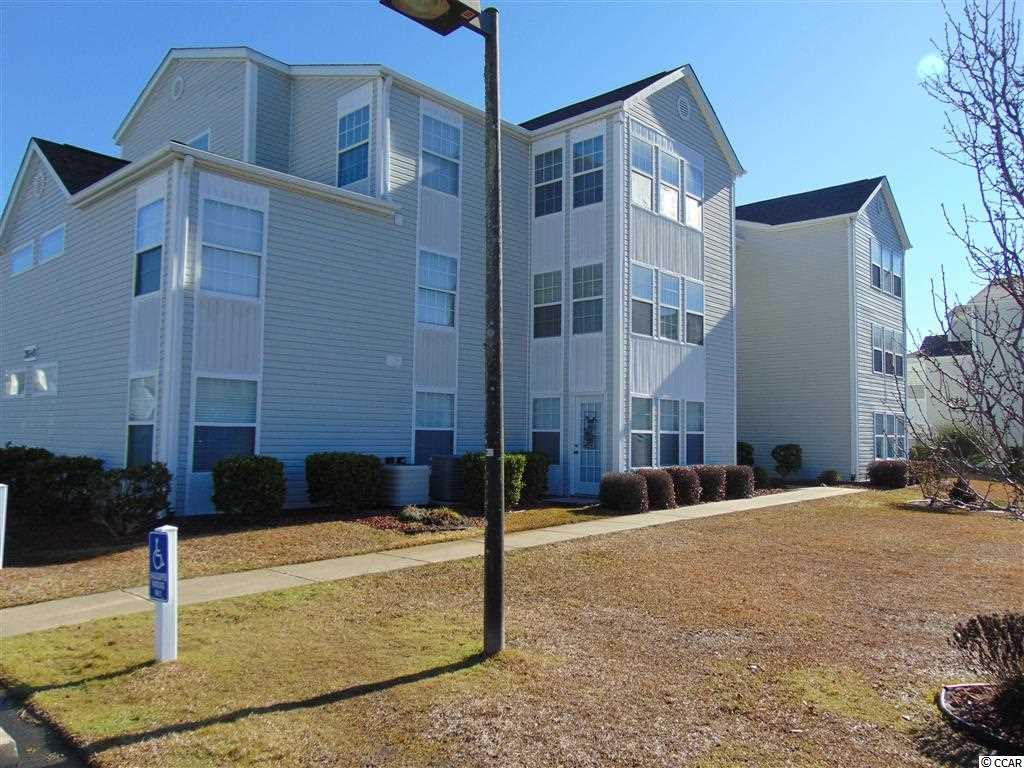 Great location, approximately 3 miles to the beach of Surfside! This second floor 2 bedroom condo is very spacious and comes fully furnished! There is a Carolina room with large closet, open concept living room and updated cabinets in the kitchen! There is a laundry room with plenty of space and shelving, and 2 full baths with upgraded vanities. The master bedroom has 2 closets and private bath. Community pool right up the road and convenient to shopping and restaurants and of course...the beach! Square footage approximate and not guaranteed. Buyer is responsible for verification.