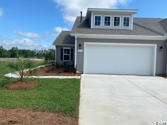Lovely, low maintenance, paired ranch home in a brand new community! This Tuscan floorplan offers a spacious, open layout all on a single level. With vaulted ceilings, tons of natural light throughout the living and dining areas, large kitchen island with breakfast bar, and spacious screen porch, this home is perfect for entertaining! The kitchen also features granite countertops, stainless Whirlpool appliances, white painted cabinetry, and a large pantry with ample storage. Roomy primary bedroom suite with walk-in closet and private bath with dual vanity and 5 ft. walk-in shower. This home also features laminate wood flooring in the main living areas, a tankless gas water heater, and our industry leading smart home technology package. Yard and exterior maintenance are all covered! 4' black aluminum fencing is permitted (per HOA approval).  *Photos are of a similar Tuscan home. (Home and community information, including pricing, included features, terms, availability and amenities, are subject to change prior to sale at any time without notice or obligation. Square footages are approximate. Pictures, photographs, colors, features, and sizes are for illustration purposes only and will vary from the homes as built. Equal housing opportunity builder.)