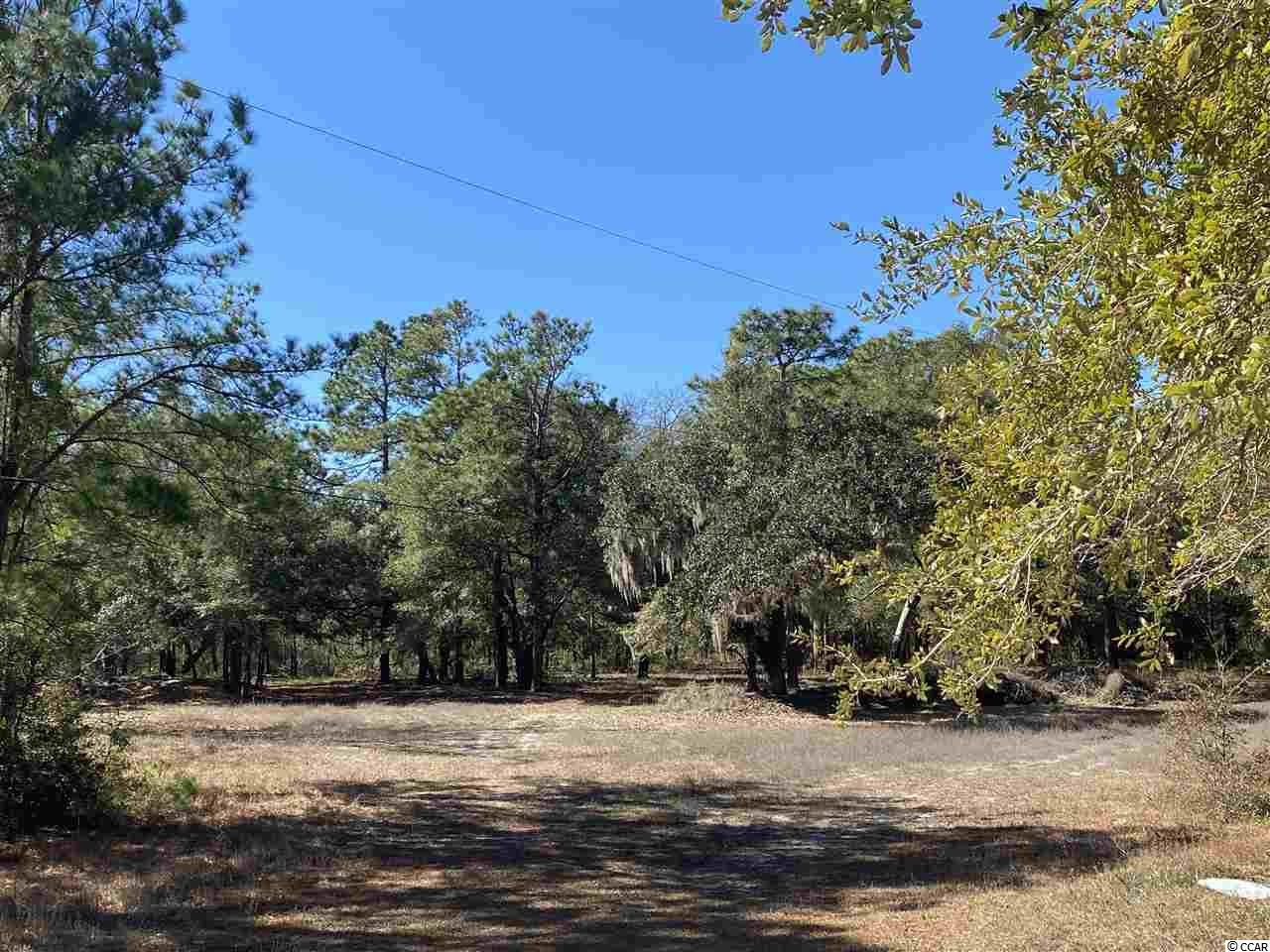 "Here's a piece of residential land offering 2.39 acres with amazing oak trees hiding just off 707 after you turn coming from highway 17. Providing a lot of privacy and serenity with a lot of space for building and located in a prime area of Murrells Inlet, it's an opportunity worth checking out.  Don't be fooled by the county address ""off 544"".  The actual address will be assigned from tax map number when something is built there.  It's not near 544, but that is the legal description.  I have a plat on file.  Call and check it out today."
