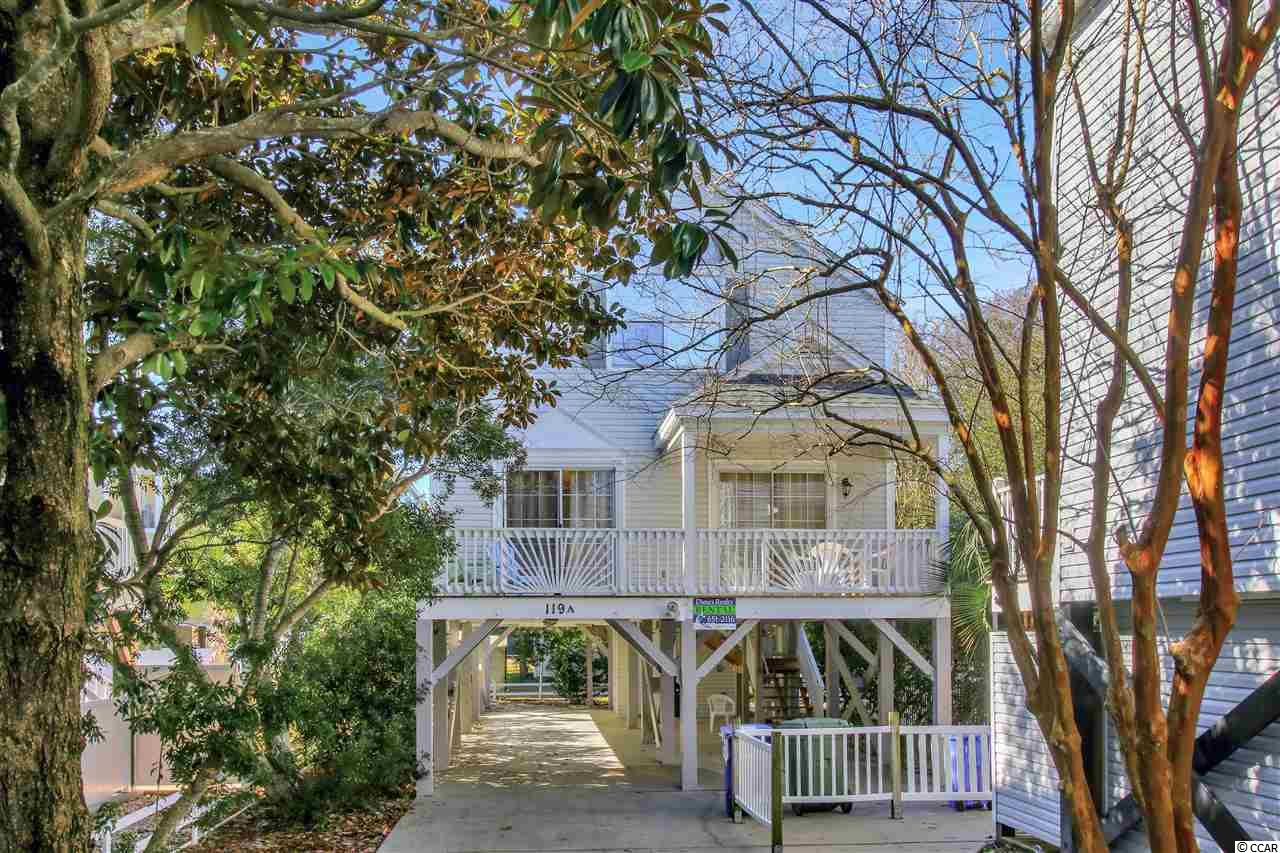 LOCATION LOCATION a must see east of 17 raised beach house. Rental investment, 2nd home ,or primary home. Less than 5 minute walk to the ocean. Open living spaces with warming sunlight & an inviting front porch.  This home is ready for you to enjoy with Spring & Summer Time coming.  Outdoor shower, storage & plenty of parking . Low maintenance vinyl siding.  Surfside Beach has many beach accesses, is golf cart friendly, has a great library, public tennis courts, festivals, farmers market, retail stores and restaurants within walking distance & there is also a new Pier being built.  Also forgot to mention a wonderful dog park.