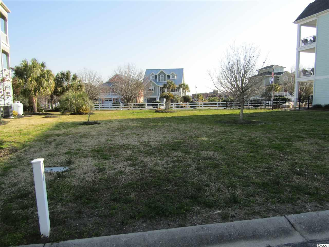 Build your dream home with marina and waterway views.  This community is located close to everything in North Myrtle Beach.  Drive your golf cart to the beach, restaurants and shopping.  Have your boat at the connecting marina.