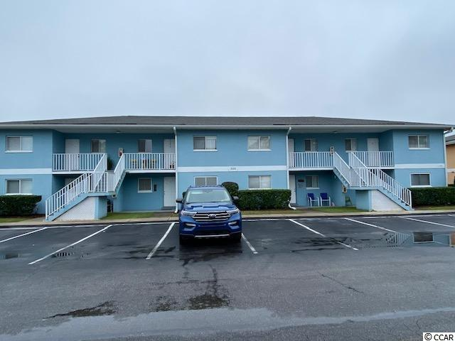 Ground Floor unit in Surfside Beach approx. 1 mile to the Ocean. 2 Beds and 2 full baths, freshly painted, new fans, tile flooring, tile screened porch. Inside Washer and dryer convey. Gas powered Golf Carts ok, pet under 30 pounds allowed. HOA includes water, sewer, cable, internet, pool, pest control, trash, building insurance, roof, landscaping and more! This highly desired area is close to the Beaches, Airport, Restaurants, Golf, Shopping, Entertainment and more! Schedule your showing today!