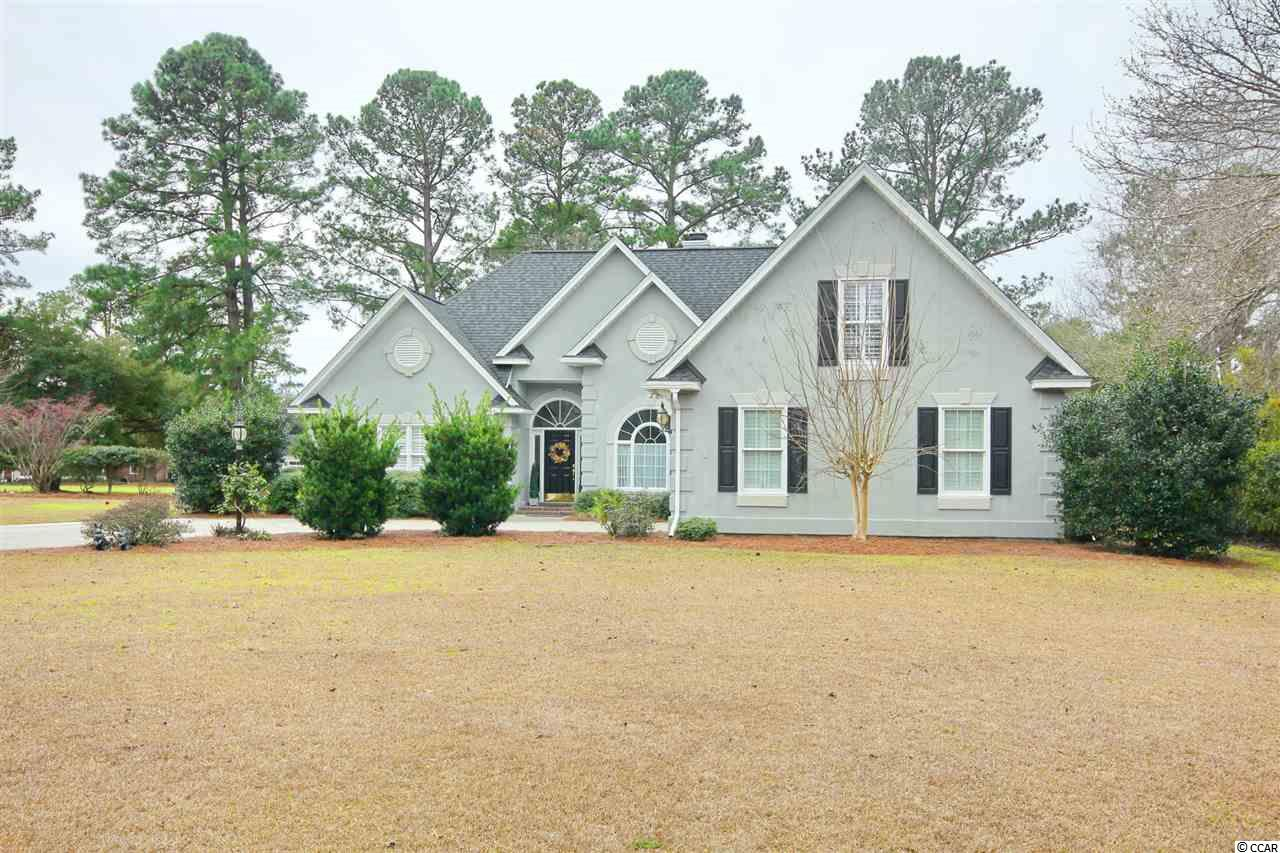 Are you looking for a move in ready home, in Wedgefield Plantation, with 3 bedrooms 2 and 1/2 bath with two bonus rooms? Well look no further! 75 Haig Court is ready for you, having all bedrooms and bath on the main level, so stairs do not have to be a problem! This home also comes with peace of mind, as is a SC Safe Home. This home has been very well maintained with a new roof, updated flooring and windows, which were replaced in 2016. The master is in on the main level with trey ceilings, an en suite with jacuzzi tub, walk in shower and two walk in closets. The split bedroom floor plan has two additional guest rooms which share a jack and jill bathroom. In addition to a functional lay out, this home has two bonus rooms, with ample floored attic space! Just off of the family room, is a 12 x 15 sun room and a nice 12 x 12 wooden deck overlooking the 2nd fairway.  What more are you looking for? The Wedgefield Community has membership options for golf and pool access, also offers a private boat landing and dock on the Black River where you have access to 5 rivers, and the Intracoastal Waterway.