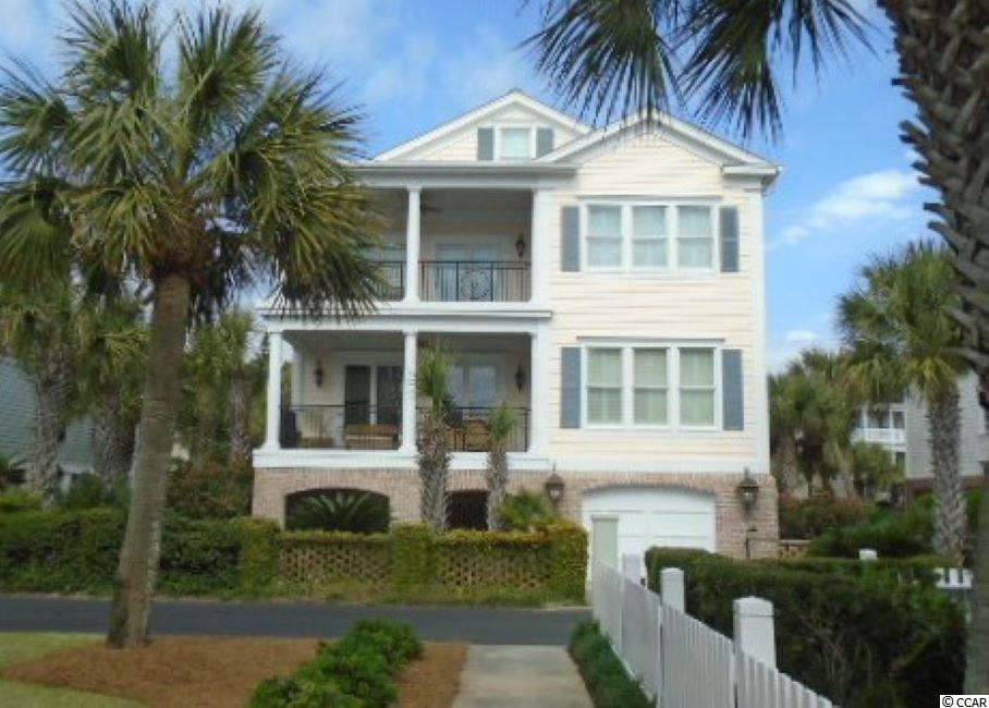 Charlestowne Grant is an exclusive ocean side gated community in Pawleys Island, SC located in beautiful Litchfield By The Sea.  All common areas offer Santos mahogany hardwood floors.  Kitchen has all custom cabinetry with Cambria quartz countertops.  Master suite has gorgeous ocean views from its own private balcony and towel warmer in the master bath..  3 independent Geothermal HVAC for energy efficiency.  This 7 Bedroom, 7-1/2 bath home has so many top of the line appointments and offered with elegant furnishings. The dishwasher in the kitchen is a Double Dishwasher!  A truly must see!