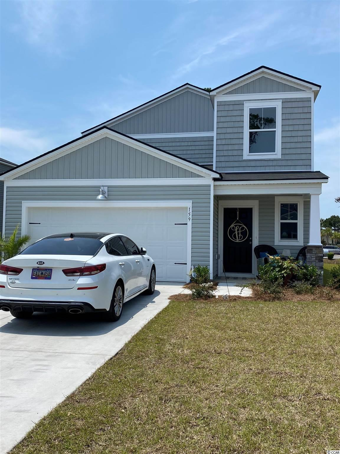 """These pictures are of a """"Similar Home"""", it is a MODEL home with extra options.   Beach Village  community is located in Deerfield. This Columbia is 5 bedroom 2 1/2 bath. This home features Granite kitchen countertops with subway tile. Stainless steel appliances and Laminate flooring. A gas community with a tankless water heater and gas stove.  Low HOA includes Trash pick-up, Cable & Internet. Just a golf cart ride to the beach (1.7 miles)"""