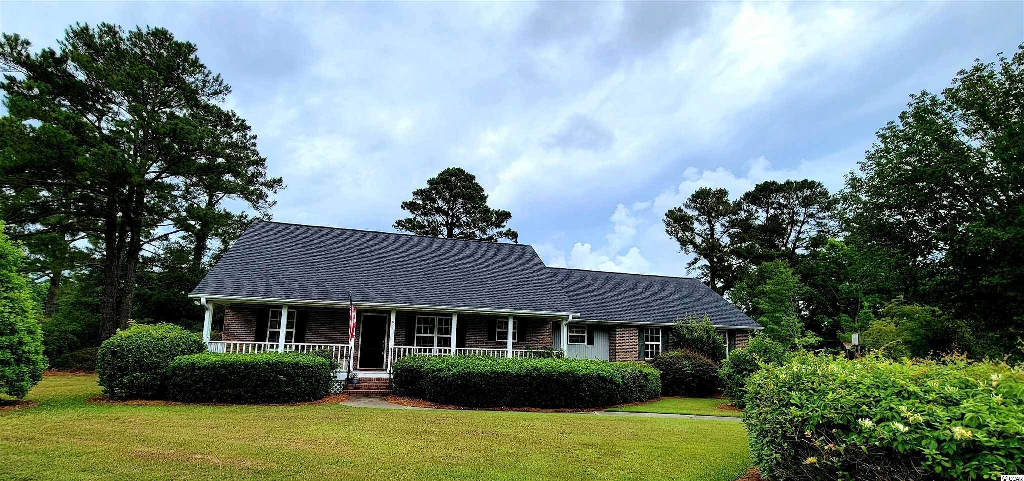 This home is move in ready and easy to see! Located in historic Wedgefield Plantation with Golf Course, Restaurant and Private Boat Landing! This home offers 3 bedrooms 2 1/2 baths with attached 2 car garage.  New HVAC and 3 year old roof. Beautiful Hardwood floors, large walk-in closets in Master Bedroom, Garden Tub and Walk-in Shower in Master Bath and gas fireplace in Family Room. In addition all appliances will convey with sell of home. Located on 3rd Fairway of the Golf Course with access to the private Boat Landing on Black River, this will allow you short run to access Winyah Bay and the Intracoastal Waterway.