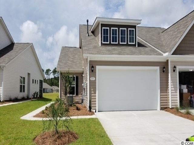 "Heather Glen is a brand new natural gas community where homeowners will enjoy a large clubhouse with sprawling verandas, impressive swimming pool, conditioned fitness center, fenced dog park, playground area, and blueberry garden! This Tuscan floorplan offers a spacious, open layout all on a single level. With vaulted ceilings, tons of natural light throughout the living and dining areas, large kitchen island with breakfast bar, and spacious covered patio with pond views, this home is perfect for entertaining! The kitchen also features granite countertops, stainless Whirlpool appliances, 36"" painted cabinetry, and a large pantry with ample storage. Roomy primary bedroom suite with walk-in closet and private bath with dual vanity and 5 ft. shower with glass door. This home also features laminate wood flooring in the main living areas, a tankless gas water heater, and our industry leading smart home technology package. Yard and exterior maintenance are all covered! 4' black aluminum fencing is permitted (per HOA approval).  *Photos are of a similar Tuscan home. (Home and community information, including pricing, included features, terms, availability and amenities, are subject to change prior to sale at any time without notice or obligation. Square footages are approximate. Pictures, photographs, colors, features, and sizes are for illustration purposes only and will vary from the homes as built. Equal housing opportunity​​‌​​​​‌​​‌‌​​​‌​​‌‌​​​‌​‌​​​‌‌​ builder.)"