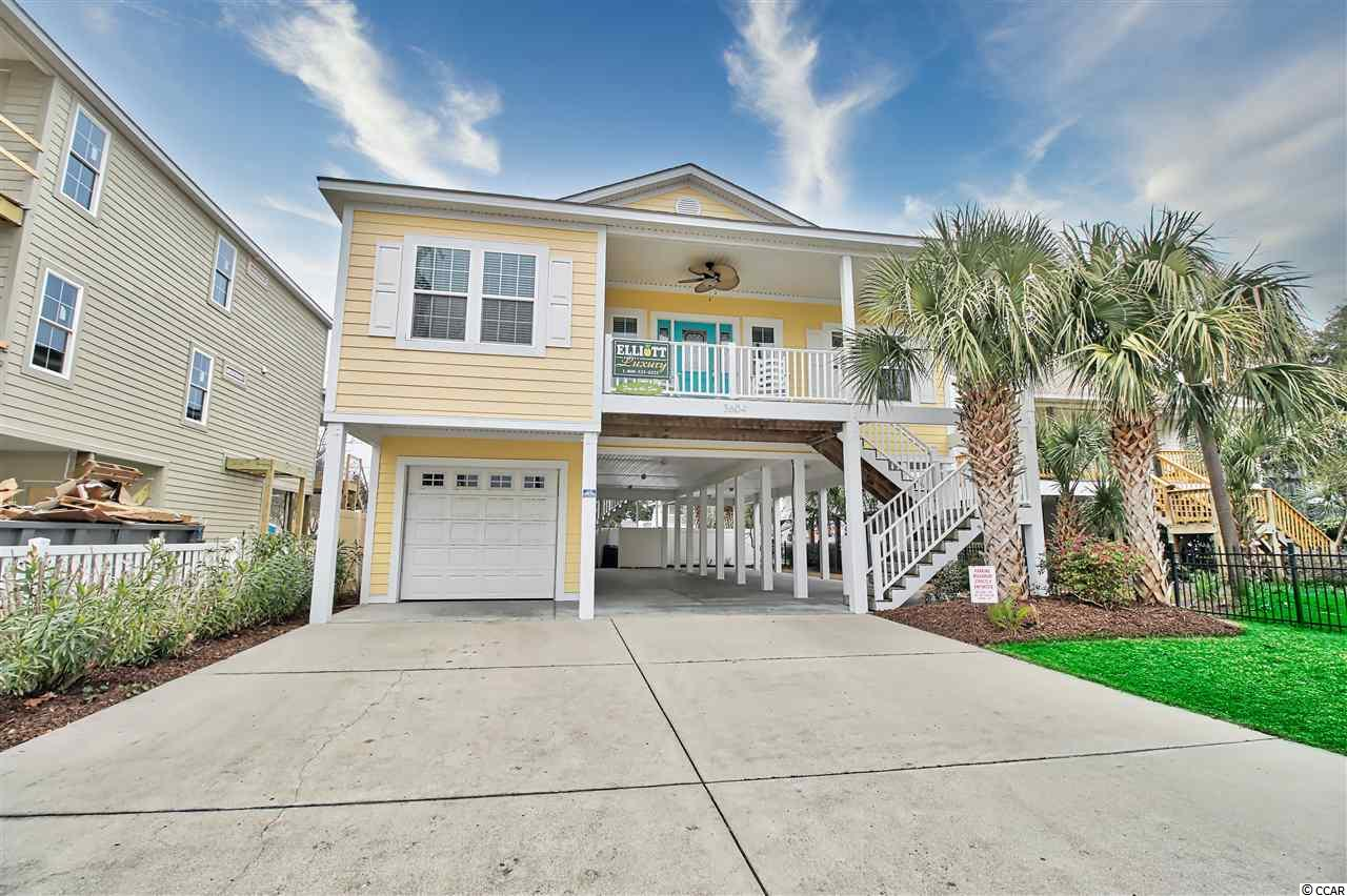 WOW!!! WHAT A GORGEOUS HOME WITH OCEANVIEW, A 4 BEDROOM 3 BATH LOCATED IN THE WINDY HILL SECTION OF NORTH MYRTLE BEACH. LOVELY KITCHEN WITH GRANITE COUNTERTOPS STAINLESS STEEL APPLIANCES AND A BREAKFAST BAR. HOUSE IS VERY TASEFULLY FURNISHED AND HAS BEEN FRESHLY PAINTED WITH LAMINATE FLOORING THROUGH OUT AND HAS TILE IN BATHS. LARGE MASTER BEDROOM WITH A TILED MASTER BATH SHOWER. HOME HAS HARDIE PLANK SIDING AND AN OVERSIZED 1 CAR GARAGE WITH STORAGE AREA. HEATED SWIMMNG POOL WITH SPA, HAS NEW KOOL DECK POOL SURROUND. BEAUTIFULLY LANDSCAPED WITH A TIMED IRRIGATION SYSTEM. NEW HVAC SYSTEM IN 2020. SHORT SROLL TO WINDY HILL BEACHES AND BIG BLUE ATLANTIC. HOME SHOWS LIKE A MODEL AND IS A MUST SEE! SET UP YOUR SHOWING TODAY
