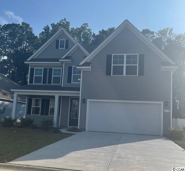 New phase now selling! Hidden Brooke is a beautiful community with an amenity that includes a pool with large deck area, clubhouse, and exercise room. Minutes away from Highway 31 which provides quick and easy access to all of the Grand Strand's offerings: dining, entertainment, shopping, and golf! Tranquil setting just a short drive to the beach. Our Forrester plan is a well appointed two-story home with a picturesque front porch, formal dining area, and a huge kitchen island! Once inside, wide plank laminate wood flooring flows throughout the main living areas and the kitchen will have modern gray painted cabinetry, granite countertops, and stainless Whirlpool appliances including a gas range. A bedroom and full bath on the first floor are perfect for visiting guests while the grand primary bedroom suite, two additional bedrooms, the laundry room, and a large bonus room over the garage are upstairs. This home will also include an extended bonus room, extended garage, and a rear screen porch! Ask an agent today about our industry leading smart home technology package that is included in each new home!  *Photos are of a similar Forrester home.  (Home and community information, including pricing, included features, terms, availability and amenities, are subject to change prior to sale at any time without notice or obligation. Square footages are approximate. Pictures, photographs, colors, features, and sizes are for illustration purposes only and will vary from the homes as built. Equal housing opportunity builder.)
