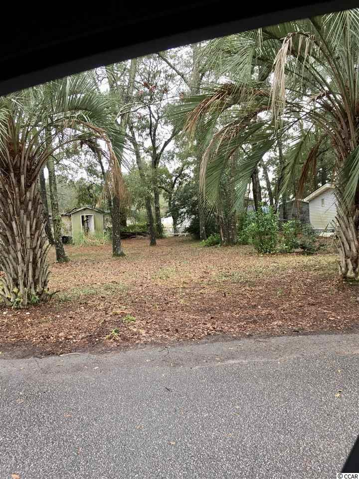 Nice Lot in Cherry Grove Short golf ride to shopping and the beach.  lot ready for Singlewide, doublewide, modular or stick built. Must verify with Horry county building dept.