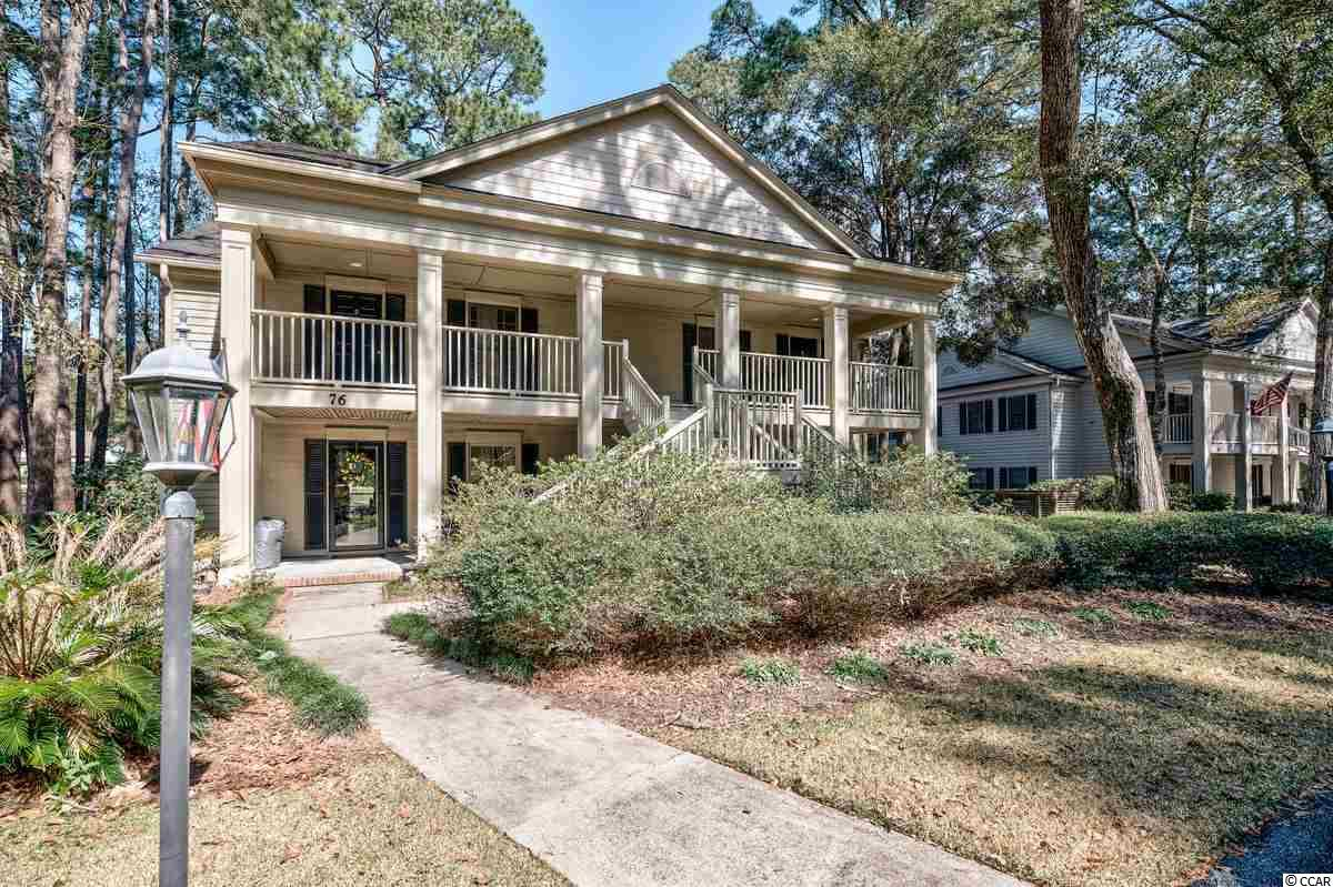 Pawleys Plantation: This  offering has beautiful views overlooking eleventh fairway of  Jack Nicklaus' signature course in Pawley's Plantation. Strategically located within steps from the private Weehawka Woods Pool and walking distance to the Plantation Club House, Restaurant and Golf Pro Shop. Only minutes from  Pawley's Island restaurants, shopping and the beach.