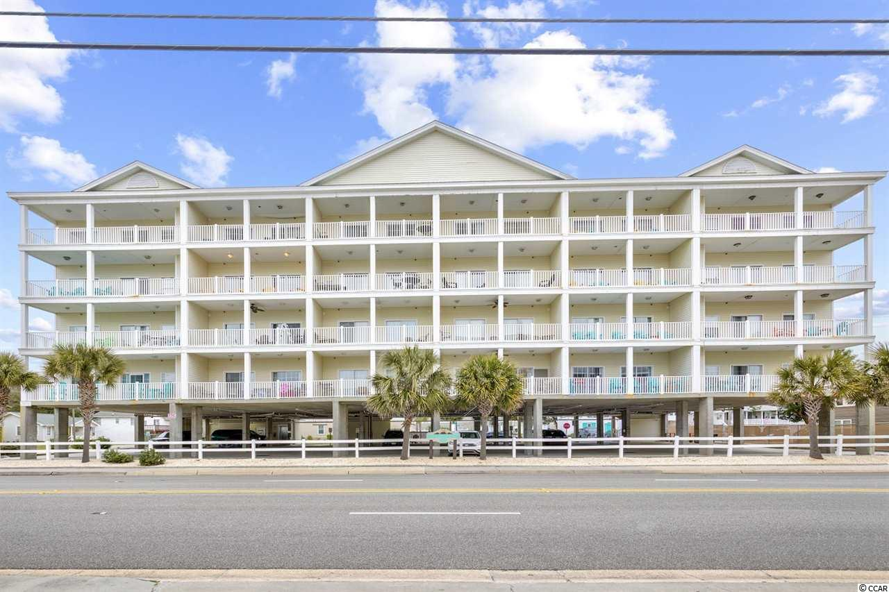 A rare opportunity to own this huge condo directly across the street from the Atlantic Ocean with public access to the beach directly across the street as well. This 2 story unit has 2BR and 2BA downstairs along with the kitchen, dining, breakfast nook, great room and large balcony overlooking the ocean. Upstairs you will find 4BR with 3BA, a recreation room/living area, laundry room along with another large balcony with great view of the ocean. Unit has dual control heat/ac for up and down along with two SS refrigerators in the kitchen  which is great for large family gatherings! Ideal for investors and large families who love the ocean. Two balconies with great views of the Atlantic Ocean...