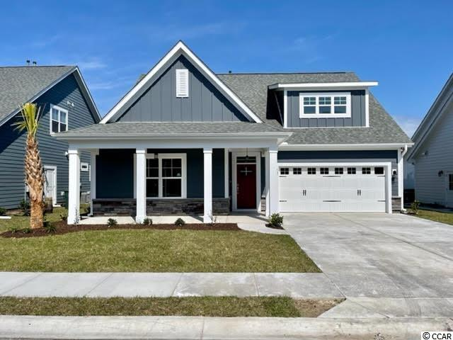 Our fantastic new Emerald lV Model has so much to offer ~ This One & 1/2 story home features 4Br/3Ba with office on first floor & 1 BR/bonus with full bath on the 2nd floor and a large 2 car garage + a golf cart garage! This open floor plan boasts a large living room, breakfast/dining area, kitchen with free standing gas convection range, over-the-range sensor microwave, energy star dishwasher, granite countertops, garbage disposal, pantry, laundry room & rear patio. Fantastic Owner's Suite with tray ceiling, 2 walk in closets & bathroom with walk in shower, water closet and his & her sinks. The 2nd floor boasts a large bedroom/bonus room with full bath. Energy savings features include Low E windows, 14 Sear HVAC, Digital WiFi Programmable Thermostats, Tankless Gas Hot Water Heater & 200 Amp electrical service, security system with keyless entry.  Too much to mention so come see for yourself! From the time you step onto the quaint from porch & open the front door you'll see the quality of construction. 9' flat ceilings, wide plank restoration flooring, luxurious carpet in bedrooms.  Additionally, Robber's Roost at North Myrtle Beach is a natural gas community east of Hwy 17 with a community pool coming for the 2021 swimming season & is located within walking, bicycle or golf cart distance to Tilghman Beach, the beautiful Atlantic Ocean w/ 60 miles of white sandy beaches and is close to Coastal North Town Center (shopping, dining, beauty, pets), Shag dance capital Main St., golf, boating/fishing in the ICW, entertainment and all the amenities of living in Coastal South Carolina. Whether a primary residence or your vacation get-a-way, Don't Miss ~ come live the dream!  (*Many new plans to choose from!)