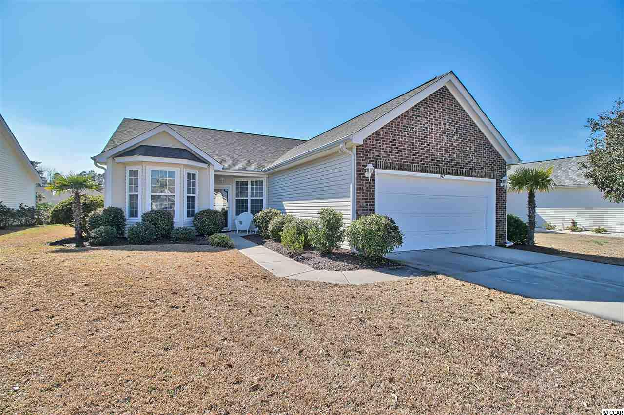 """Don't miss this immaculately kept home located in the Hidden Lakes Village community in Little River.  Vaulted ceilings in Living and dinning rooms.  Kitchen has 42"""" cabinets and stainless steel appliances with a bright breakfast nook.  Ceramic tiles in kitchen and baths.  Speaker system.  Irrigation system.  Enjoy the beautiful views of the lake from Living room, master bedroom and Carolina room.  Community has a swimming pool, tennis courts and a playground.  Only minutes to the beach and all that the area has to offer."""