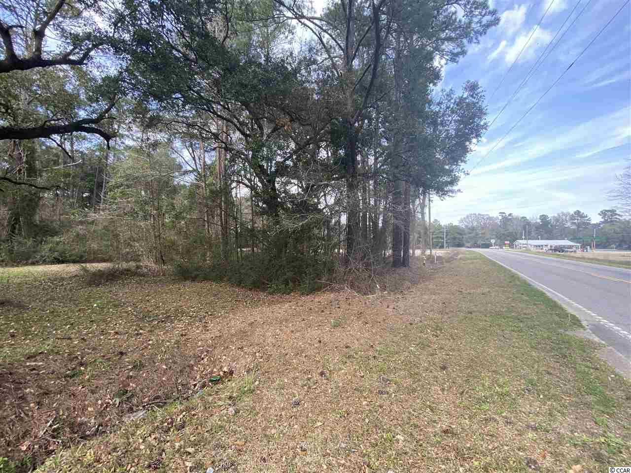 1.45 acre residential wooded lot. County water available. Road frontage on two streets